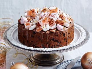 christmas fruit cake recipe with brandy