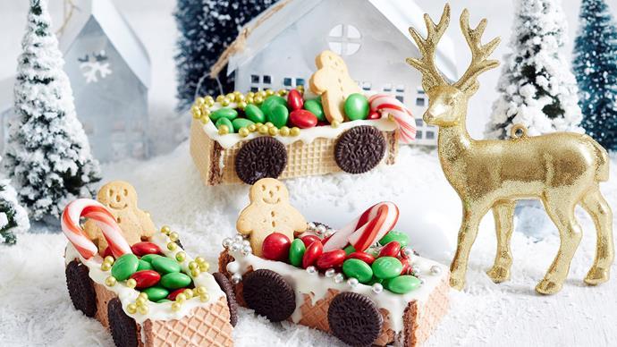 edible sleigh