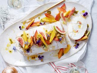 pavlova meringue roulade