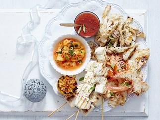 bbq seafood platter recipe