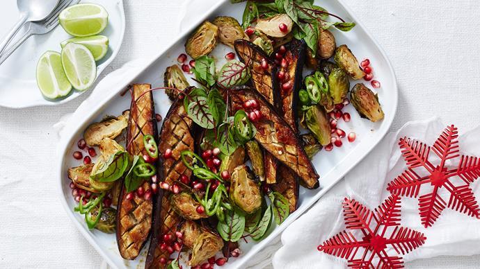miso eggplant salad