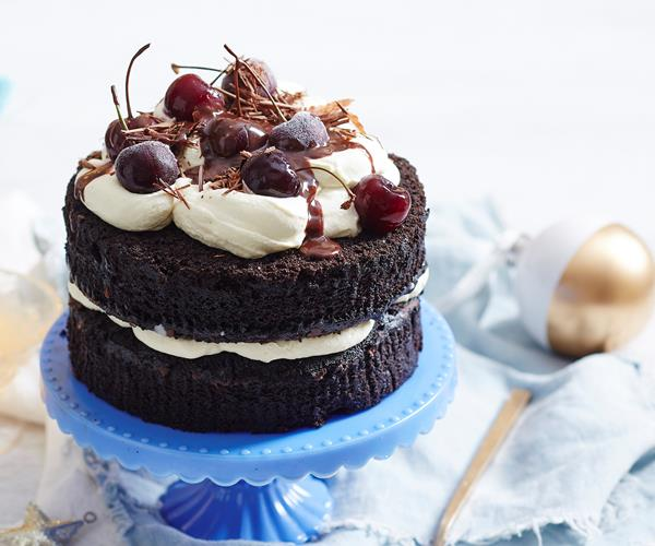 Cheat S Black Forest Cake Recipe Food To Love