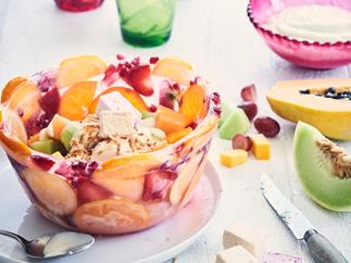 Make-your-own fruity ice bowl