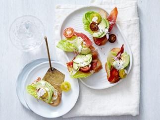 mini toast canapes recipes