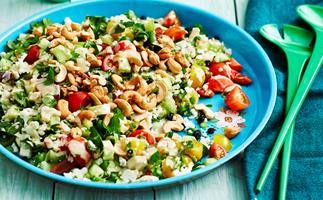 cauliflower salad tahini dressing