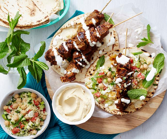 how to make a lamb kebabs