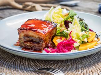 Ginger-beer pork belly