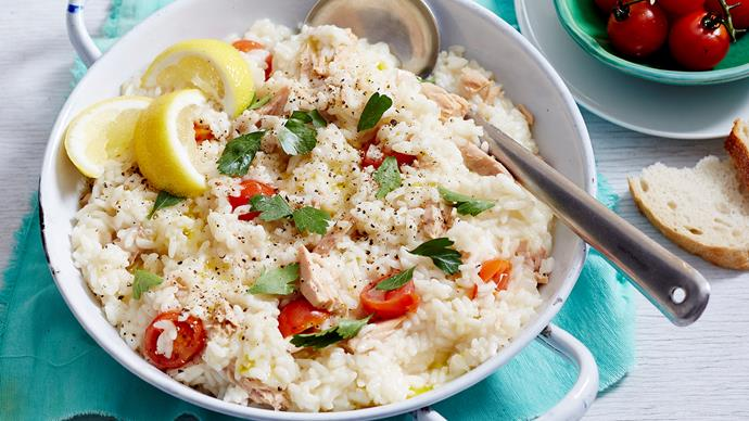 tuna and tomato risotto recipe