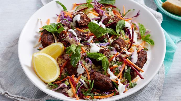 lamb kofta and couscous recipe