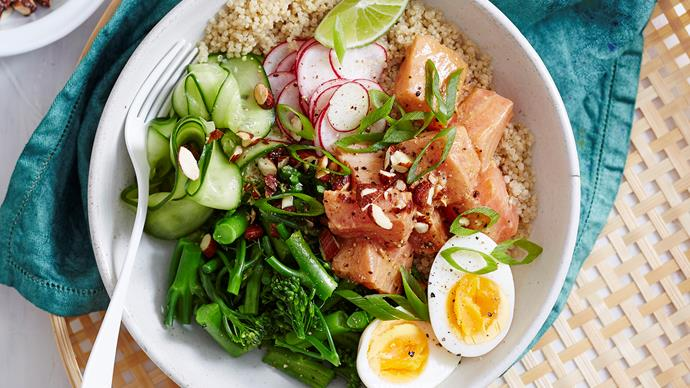 salmon poke bowl recipe