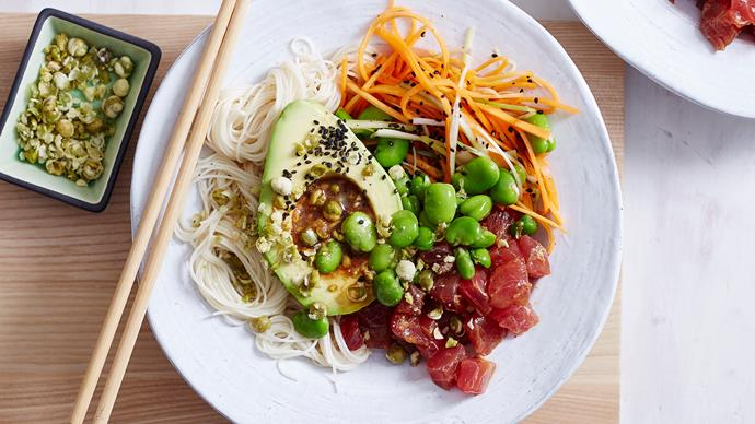 poke bowl recipe tuna
