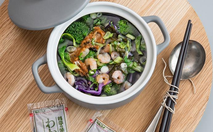 Make-ahead miso bowl