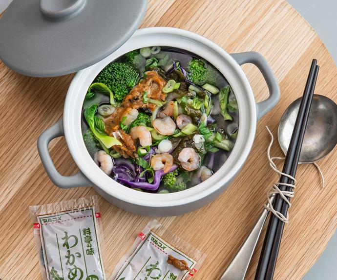 Make-ahead miso bowl