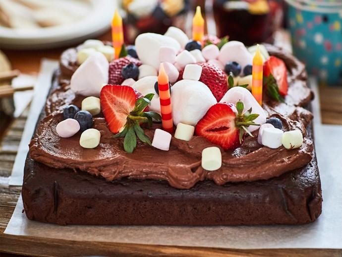 Chocolate wacky cake (egg-free and dairy-free)