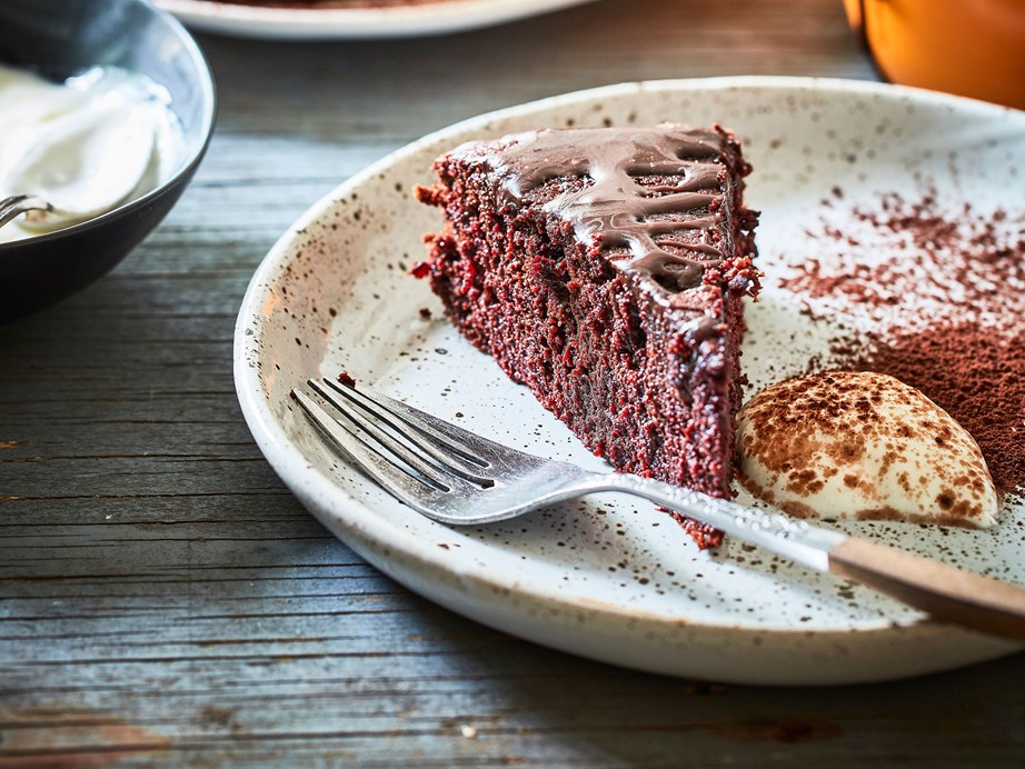 "[Gluten-free beetroot cake with chocolate drizzle](https://www.foodtolove.co.nz/recipes/gluten-free-beetroot-cake-with-chocolate-drizzle-8312|target=""_blank"")"