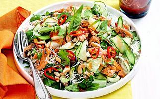 Thai-style salmon salad