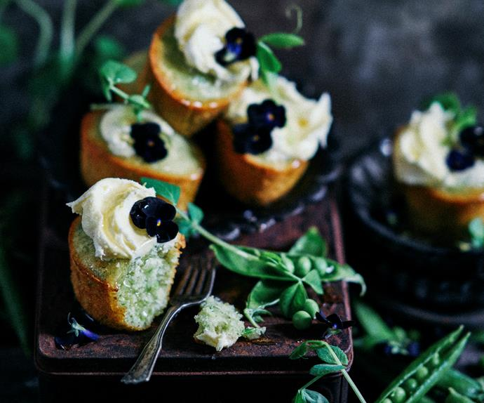 sweet pea friands