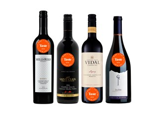Taste top wine awards - Best Reds (non-Pinot Noir)