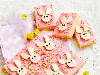 Easter bunny slice