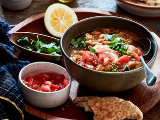 Egyptian-style beans