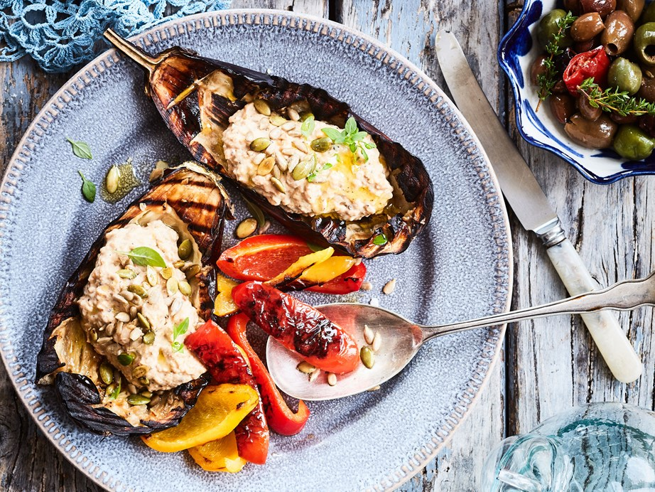 """[Roasted eggplant dip](https://www.foodtolove.co.nz/recipes/roasted-eggplant-dip-8430