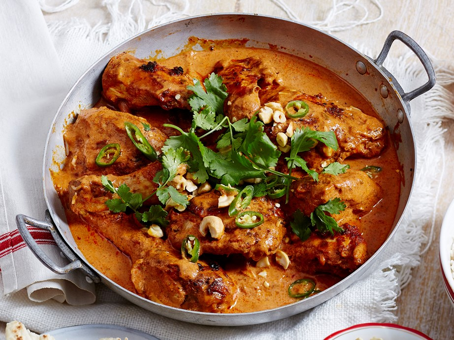 "This easy [butter chicken](https://www.womensweeklyfood.com.au/recipes/butter-chicken-13724|target=""_blank"") dish is sure to become a family favourite in no time. Serve with steamed [white rice](https://www.womensweeklyfood.com.au/how-to/how-to-cook-white-rice-1319