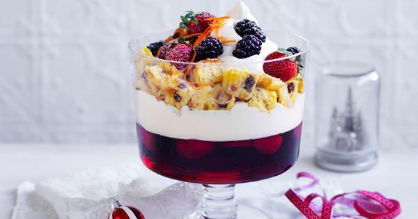 classic christmas trifle australian womens weekly food