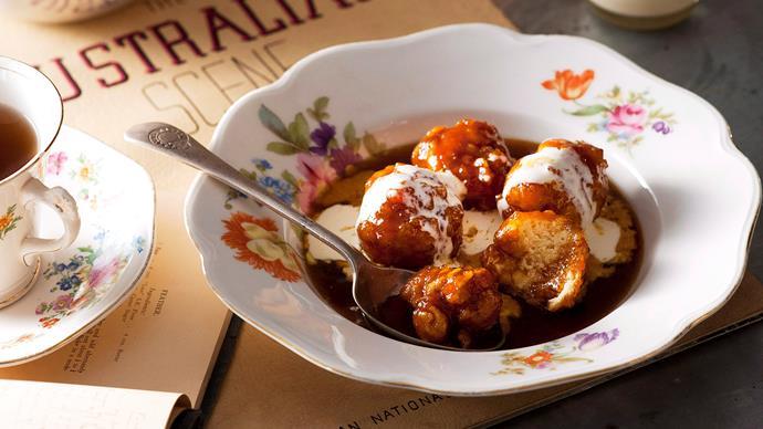 Classic golden syrup dumplings