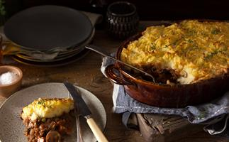 Vegetable shepherd's pie