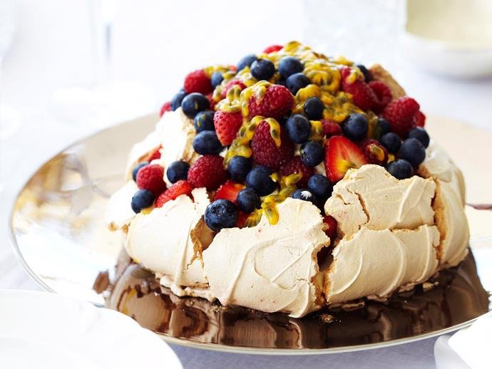 "**[Classic pavlova recipe](https://www.womensweeklyfood.com.au/recipes/pavlova-6932|target=""_blank"")**  Perfect the pav!"
