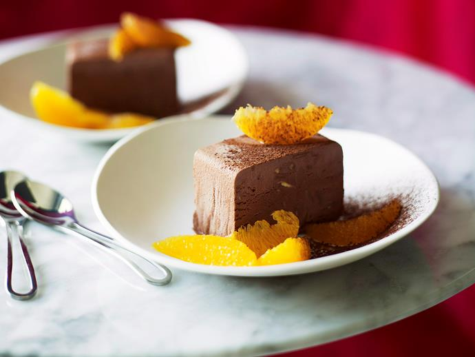 """**[Chocolate parfait with orange salad](https://www.womensweeklyfood.com.au/recipes/chocolate-parfait-with-orange-salad-19432