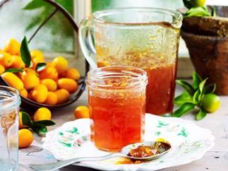 Cumquat ginger marmalade