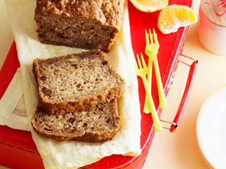 Gluten-free banana and date loaf