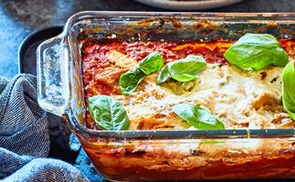 Pumpkin and ricotta lasagne