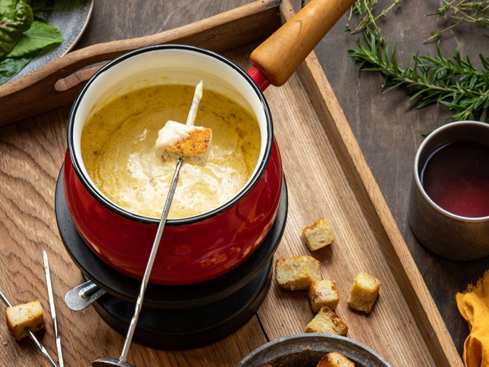 "[Cheese and herb fondue](https://www.foodtolove.co.nz/recipes/cheese-and-herb-fondue-8544|target=""_blank"")"