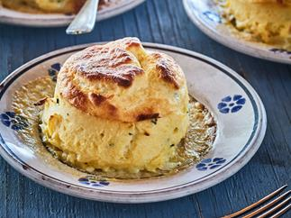 Mum's twice-cooked cheese soufflés
