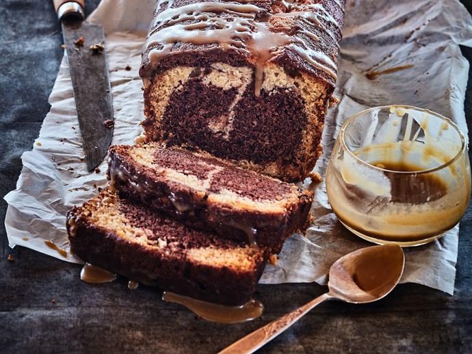 Mum's caramel cake