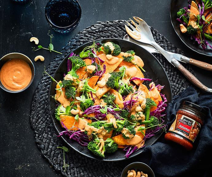 Thai sweet and spicy vegetable toss