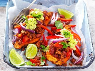Mexican-style kumara