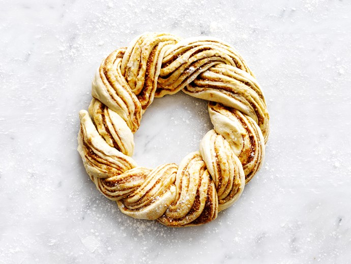 Citrus almond twist
