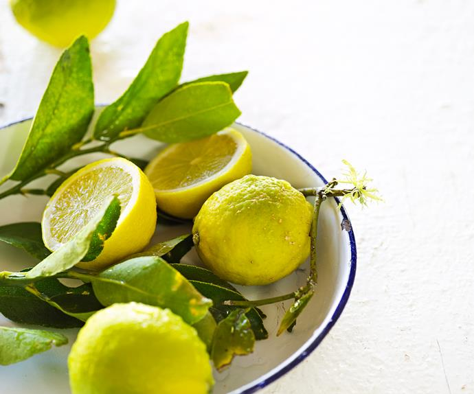 In season with Food magazine: limes