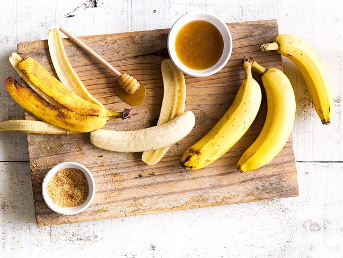 In season with Food magazine: bananas