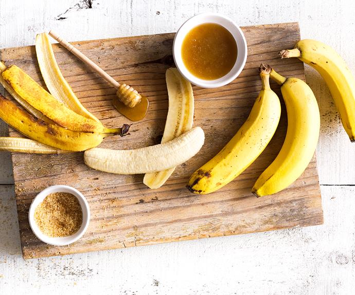 In season with Food magazine: bananas