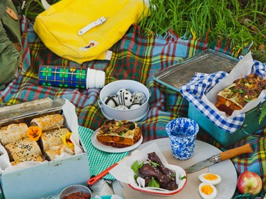 Ultimate picnic menu from NADIA magazine