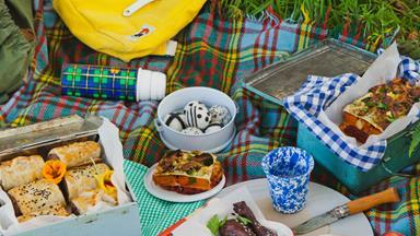 Ultimate picnic menu from NADIA magazine