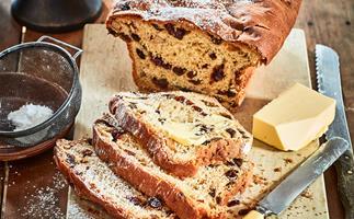 Festive fruit bread