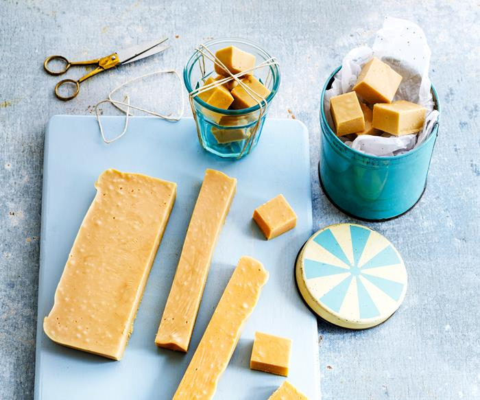 Butterscotch marshmallow fudge