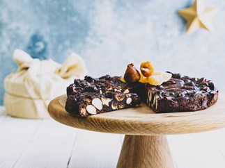 Fig and orange panforte