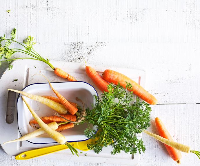 In season with Food magazine: carrots