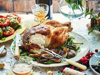 Nici's festive tarragon butter roast chicken